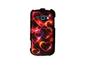 Samsung Galaxy Ring Rainbow Glowing Hearts Protector Faceplate