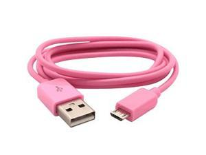 Micro USB to USB Data Cable for LG Optimus G LS970 (Sprint), Pink
