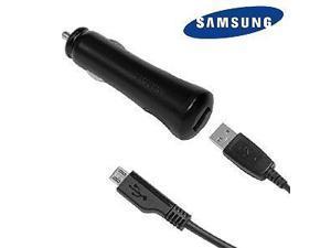 Samsung 700mAh Micro-USB Vehicle Power Adapter w/5 ft USB Data Cable for Samsung Galaxy S4 Active I9295 (ECA-U20CBEGSTA)