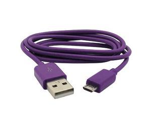 Micro USB to USB Data Cable for Motorola Atrix 2, Purple