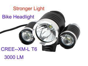T6 cree 3000 LM strong light bike accessories bicycle headlight led bike new arrived free shipping