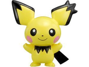 Pichu Gizamimi Ver Pokemon Figure Mc-001 Monster Collection Import Japan