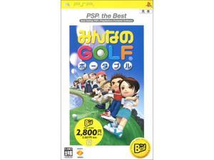 Minna No Golf Portable (PSP the Best) [Japan Import]