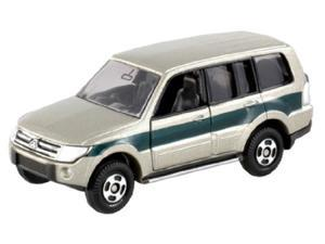 Tomy Mitsubishi Pajero Silver/ Green #085-5