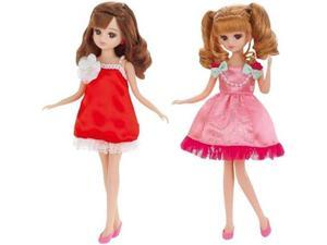 Ricca-chan LW-17 Party Dress Set (Apple & Peach)