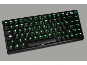 Keycool II 84 Keys Portable Mechanical Gaming Keyboard (BLUE/RED/GREEN/YELLOW/WHITE LED Backlight Available) (Brown Switches, ...