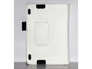 Colors Folio PU Leather Case Stand Cover for Amazon Kindle fire HDX 7 White