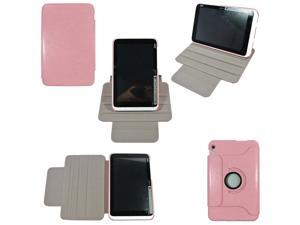 High Quality 360° Rotating Leather Case Stand Cover For Acer Iconia W3-810 W3 Pink