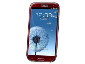 Samsung Galaxy SIII GT-i9300 16GB - Unlocked - Red (International Version)