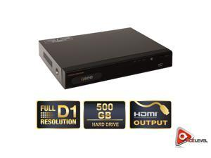 Q-See QT534 4 Channel DVR / Real-Time/ Full D1 Resolution with 500GB Hard Drive - OEM