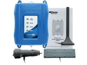 Wilson Electronics 460108 Mobile 4G Cell Phone Signal Booster & Antenna Kit for Car and Other Vehicles
