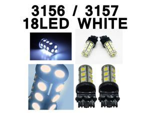 IG Tuning 3157 18-SMD White LED Bulbs Reverse Light 3156 3757 4114 4157 Backup Daytime Running Light (DRL), Turn Signal Light, ...