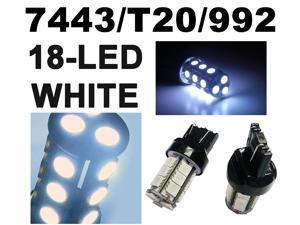 IG Tuning 18-SMD White 7440 7441 7443 7444 992A T20 LED Replacement Bulbs Reverse, Turn Signal, Corner, Stop,  Parking, Side ...