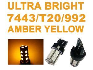 IG Tuning 18-SMD Yellow/Amber 7440 7441 7443 7444 992A T20 LED Replacement Bulbs Reverse, Turn Signal, Corner, Stop,  Parking, ...
