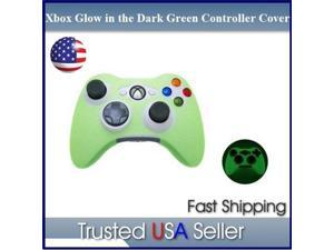Green Glow in tdark XBOX Controller Silicone Case Protector Cover
