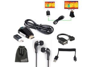 EEEKit 5 in 1 for Samsung Galaxy Note 10.1 2014 Edition P600 Tablet, MHL to HDMI Adapter + OTG Adapter + Micro USB Spring ...