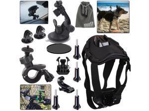 EEEKit Travel Riding Camping Diving Kit for GoPro Hero4 Hero 4 Black Silver 3+/3