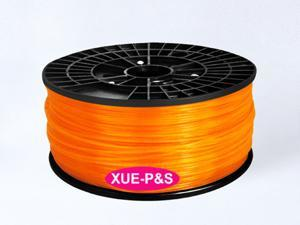 3D printer PLA Orange 3mm Filaments 1kg(2.2lb) for Reprap/Makerbot/Mendel/UP