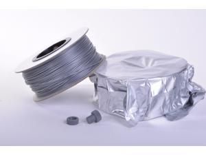 Zen Toolworks 3D Printer 1.75mm Silver PLA Filament 1kg (2.2lbs) Spool