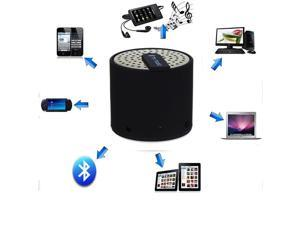 Portable Mini Wireless Bluetooth Speakers for iPhone 4S 5 Galaxy S4 Mp3 PC iPod Black