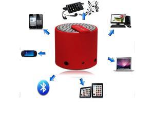 Portable Mini Wireless Bluetooth Speakers for iPhone 4S 5 Galaxy S4 Mp3 PC iPod Red