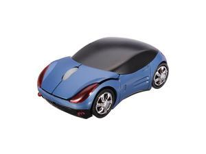 USB 2.4G 1600dpi 3D Wireless Optical Car Mouse Mice PC