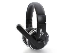 USB OV-Q6 HIFI Stereo Headset Headphone Microphone Mic for Laptop/PC/Computer
