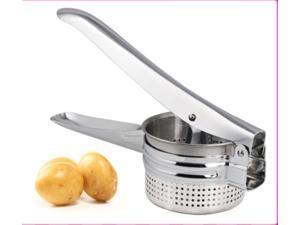 Stainless Steel Potato Masher Ricer Puree Fruit Vegetable Juicer Press Maker New