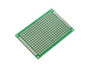 """Double-Side Prototype PCB FR-4 Stripboard Universal Printed Circuit Board 1.6"""" x 2.4"""""""