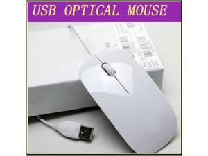 Ultra Thin USB 1600 DPI Optical Mice Mouse for Laptop PC Notebook Macbook MAC