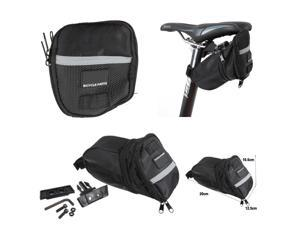 Outdoor Portable Cycling Bike Bicycle Rear Back Seat Saddle Bag Pouch Storage