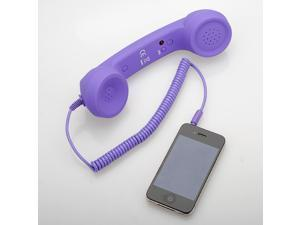 5 Colors Options 3.5mm Mic Retro Classic POP Phone Telephone Handset for iPhone 3 4 G 4S