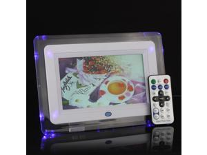 "7 inch 7"" Multi-functional TFT-LCD Digital Photo Frame Movies  Music Video MP3 MP4 Player Alarm Clock Calendar Light with ..."