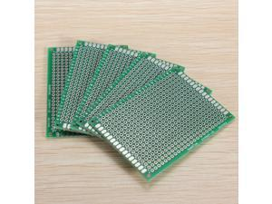 5x Double Side 5x7cm Prototype PCB Universal Printed Circuit Board 1.6mm