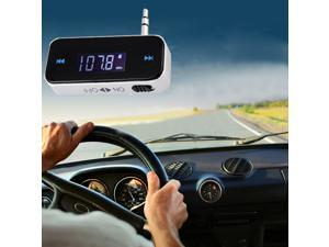 LCD 3.5mm car Wireless Fm Transmitter for iPhone 3G 3GS 4S 5 iPod Touch Galaxy S2 S3 MP3 MP4 sumsung galaxy note 2 s3 s4 ...