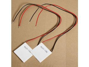 2×TEC1-12706 Thermoelectric Cooler Cooling Peltier Plate Module 12V 60W 6A Heatsink