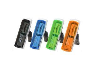 4pcs USB 2.0 Trans Flash Memory Multi-Card Reader Adapter (reader, writer) micro SD SD/MMC/ Random Color