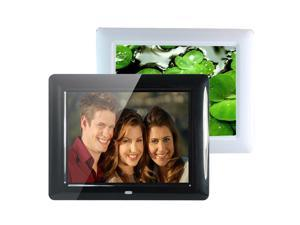 8 Inch HD TFT-LCD Digital Movies Frame Multi-functional Digital Photo Frame & MP3 with Remote Control Black 600x800