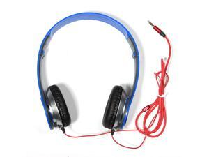 Over Ear On Ear Stereo 3.5mm Adjustable Headphone Headset Earphone for iPod iPhone 4S 5C 5S PC MP3 MP4 MP5