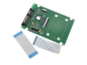 "1.8"" ZIF/LIF CE HDD Hard Disk Drive SSD to 7+15 22 Pin SATA Adapter Converter"