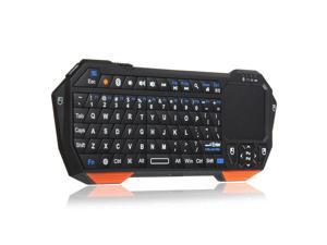 Mini Portable Bluetooth Wireless Keyboard Touchpad Mouse Remote Universal Multi