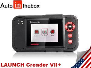 LAUNCH Creader VII+ Creader Professional VII Plus Auto Code Reader Equal to Launch CRP123 CRP 123 OBD2 EOBD Scanner