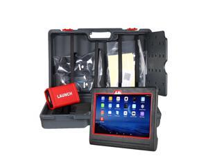 Launch X431 V plus Heavy Duty Truck Scanner Diagnostic Computer & Adatpers Box Professional Heavy-Duty Trucks Fault Diagnostic Scan Tool