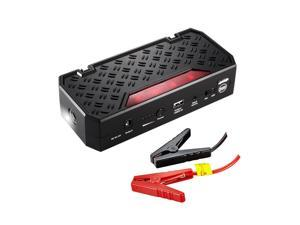Car Jump Starter, Topdon T01 600A Peak 18000mAh Portable Car Jump Starter Phone Charger Auto Battery Booster for 5L Gas and 3.5L Diesel Engine with Smart USB Charging Port and LED Light