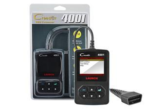 Car Code Reader, Launch CReader 4001 Diagnostic Scan Tool for Check Engine Light & Diagnostics, CR 4001 Support Read and Clear Error Codes, Query DTCs and Support 1-10 Modes CR-4001