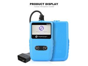 Topdon TD309 Car Code Reader – Universal OBD2 Scanner Portable Auto Diagnostic Tool with Dictionary for DTCs Lookup