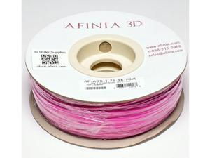 AFINIA Value-Line Pink ABS Filament for 3D Printers