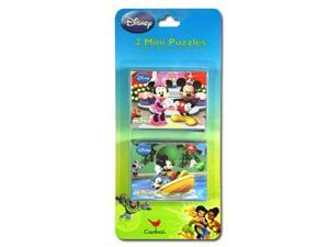 Mickey Clubhouse 2pk Puzzle on Blistercard