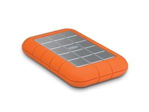 "LaCie Rugged Triple USB 3.0 1.5TB USB 3.0 / IEEE 1394b x 2 2.5"" Hard Drives - External Orange"