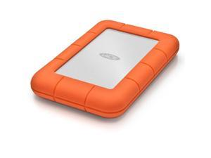 LaCie 2TB Rugged Mini External Hard Drive USB 3.0 Model LAC9000298 Orange